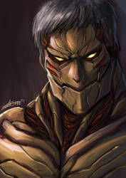 armored titan by Kai-E-soh