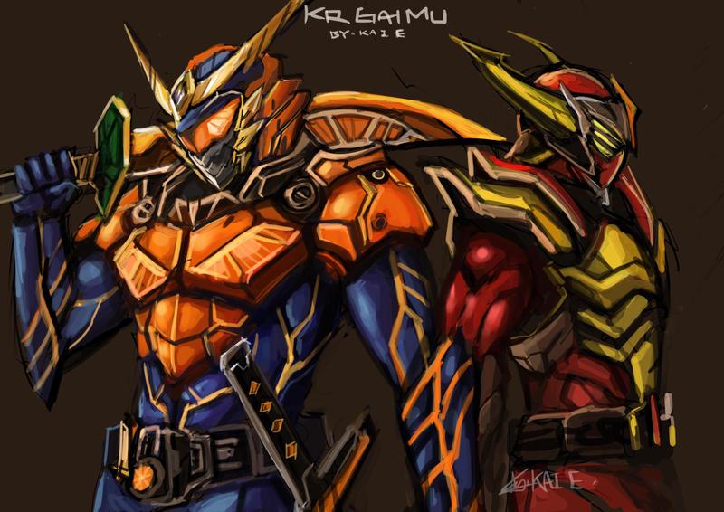 Kamen Rider Baron Wallpaper
