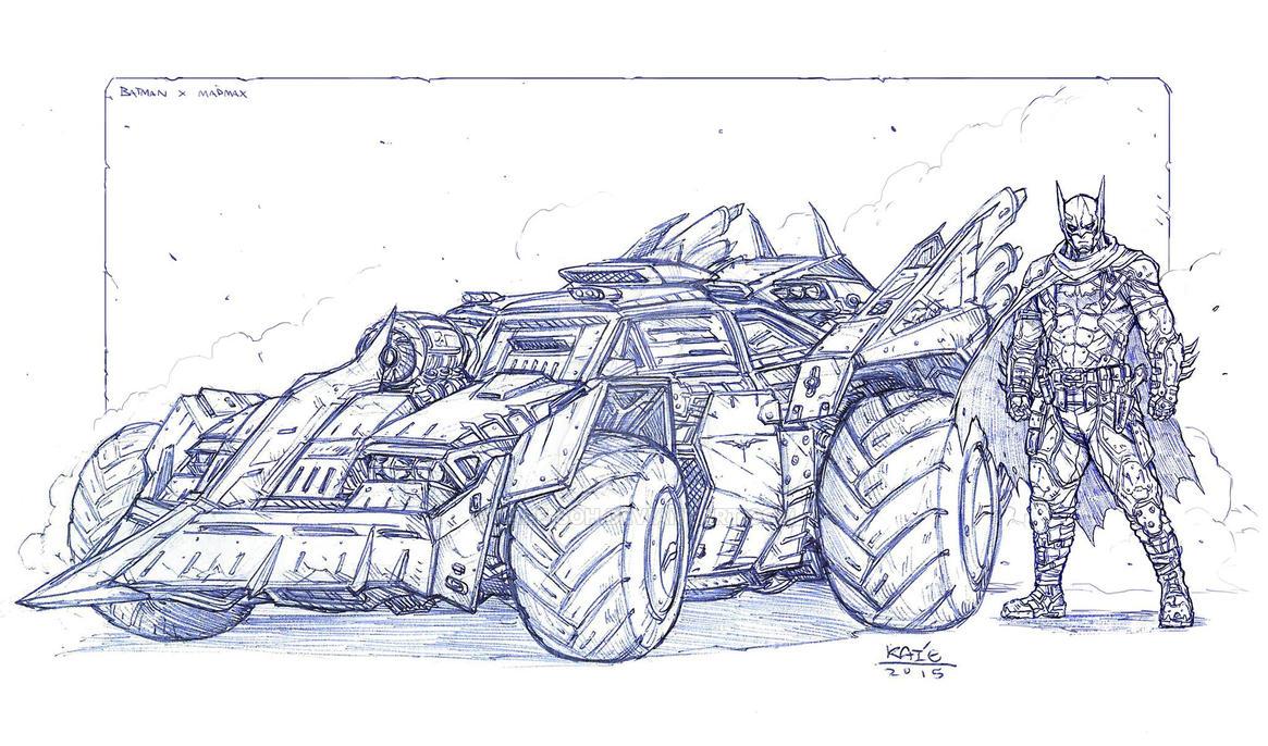 BATMAN x MADMAX by Kai-E-soh