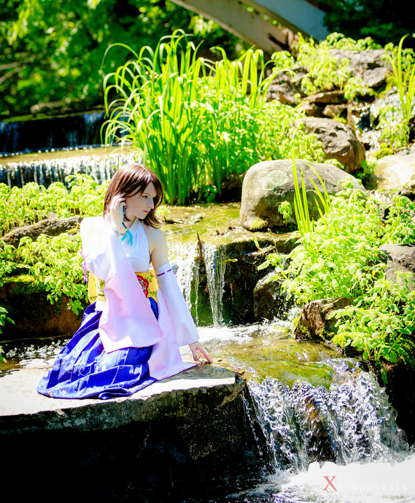 Yuna - Waterfall by AeraYuna