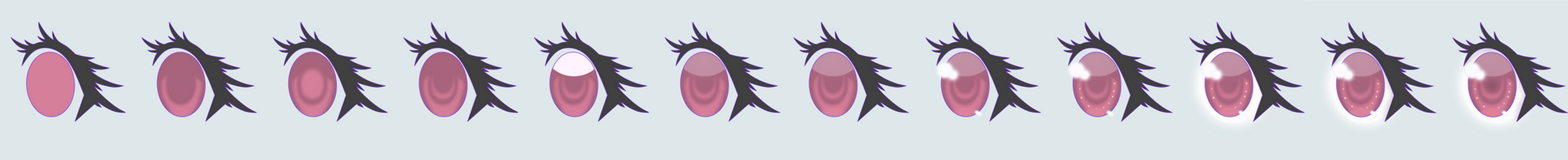 Anime Eye Color Tutorial by TreePencil