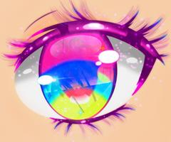 Anime Eye by Spook-A-Palooza