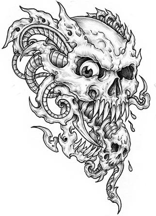 Skull Tattoo Design By XXDarkReignXx On DeviantArt