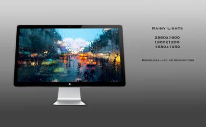 Rainy Lights by theminimalisto