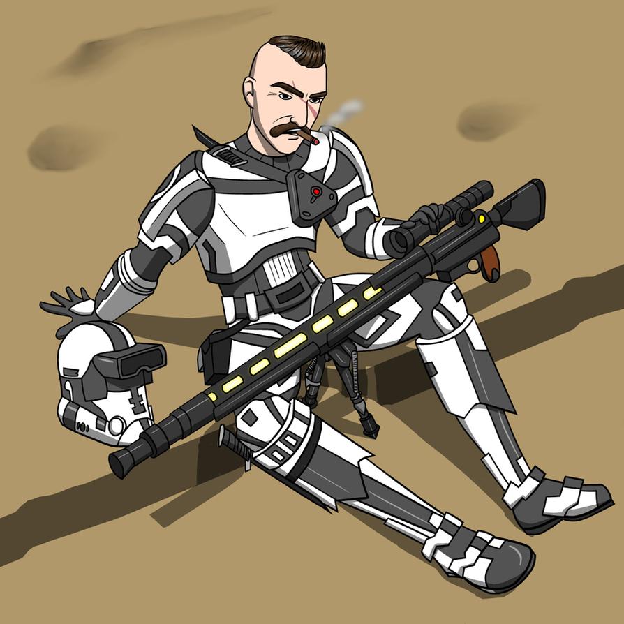 A Seasoned Sniper by Aemixx