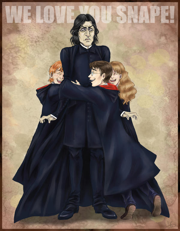 WE LOVE YOU SNAPE by Cosmic-Chameleon