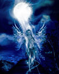 Moon Goddess by oibyrd
