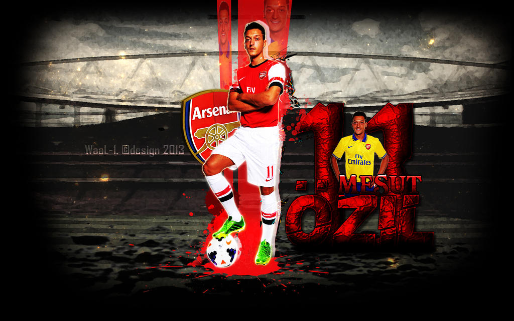 Mesut Ozil Wallpaper By WaaaLi On DeviantArt