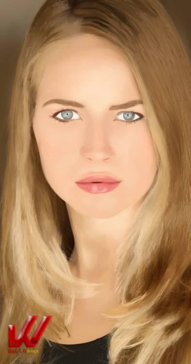 Brit Robertson by WaaaLi