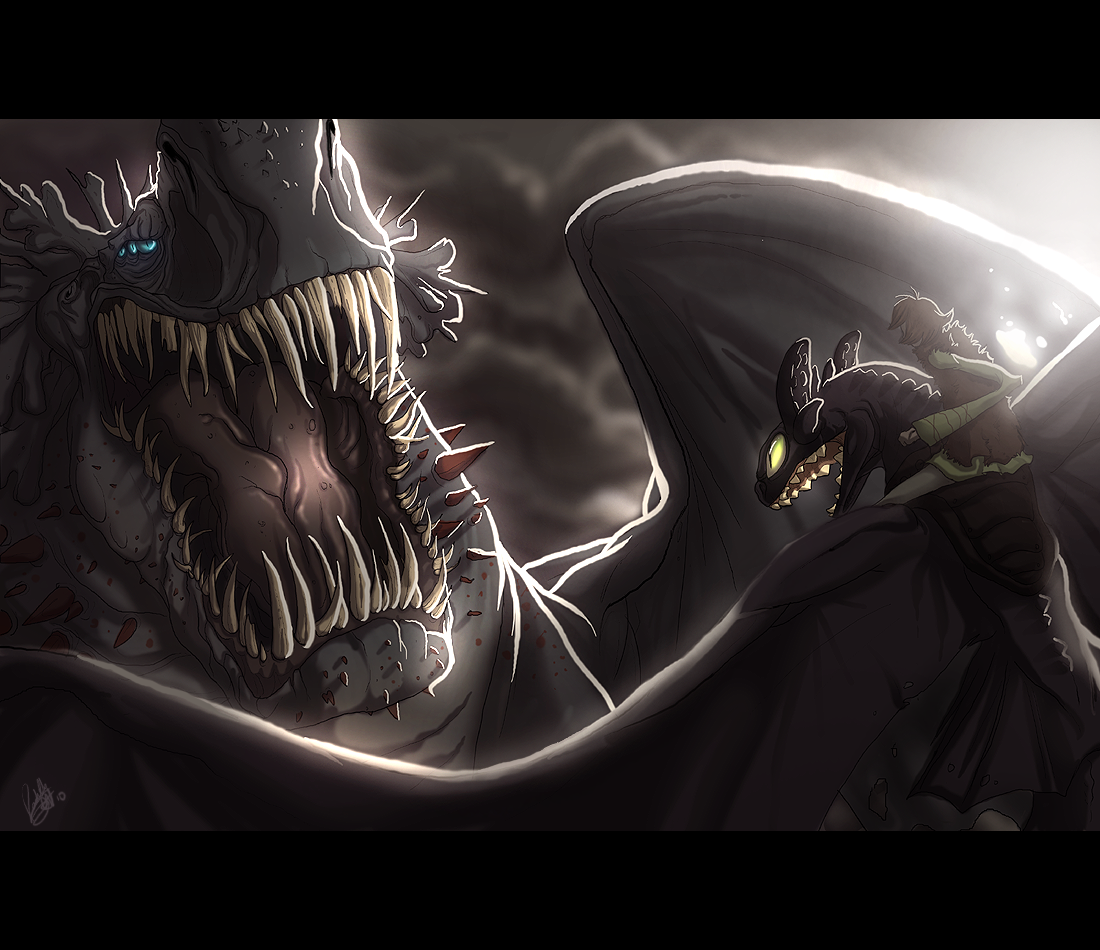 HTTYD: The Final Showdown by AdoobibullTwin4