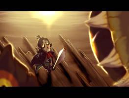 Linebeck - Saving the Hero by AdoobibullTwin4