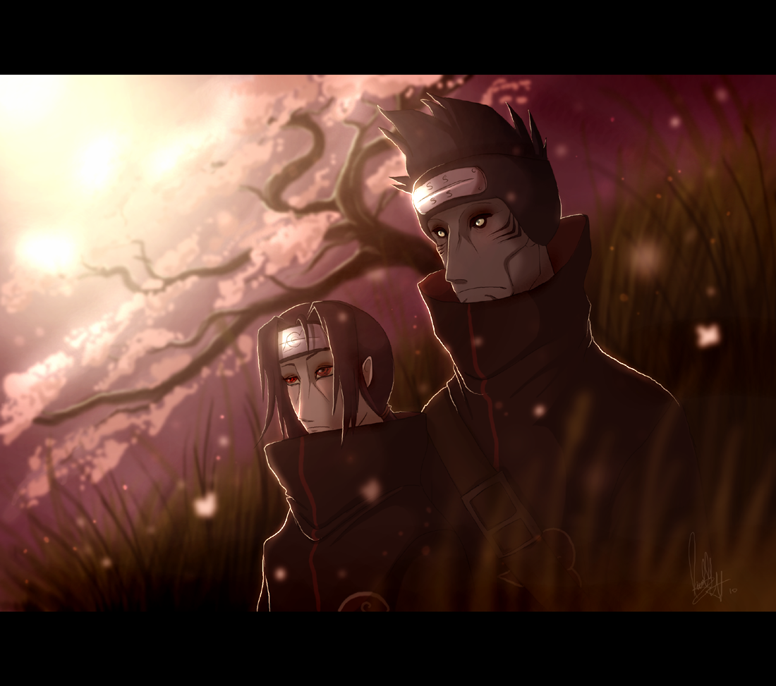 Akatsuki Itachi And Kisame By Adoobibulltwin4 On Deviantart