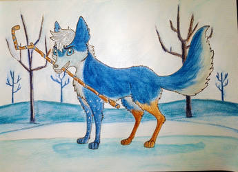 Jack Frost Doge by Varjosusi-Hunter