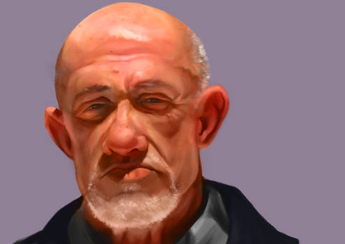 Mike Ehrmantraut  Colour (finished)