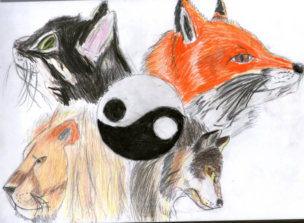 Four animal for my balance