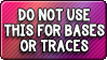 Button: No Traces