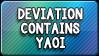 Button: Yaoi Warning by DoctorMLoli