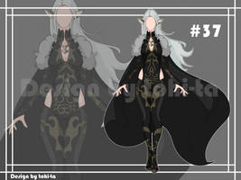 [Auction OPEN] Vamp style Outfit adoptable #37 by tohi-ta