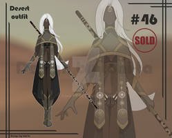 Desert Outfit+Weapon adoptable #46 [Closed]