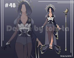 [Auction OPEN] Outfit+Weapon adoptable #48 by tohi-ta