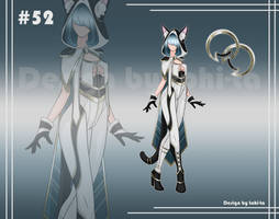 [Auction OPEN] Cat Outfit+Weapon adoptable #52 by tohi-ta