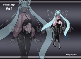 [Auction OPEN] Outfit adoptable #64 by tohi-ta