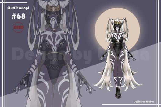 Dark-Elf Shaman Outfit adoptable #68 [Closed]
