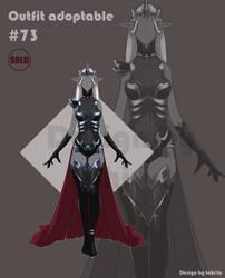 Dark-Elf Outfit adoptable #73 [Closed]