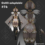[Auction OPEN] Sexy Witch outfit adoptable #76 by tohi-ta