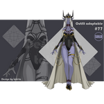 Sexy Dark-Elf outfit adoptable #77 [Closed]