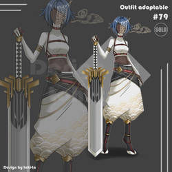 Demon outfit adoptable+Weapon #79 [Closed]