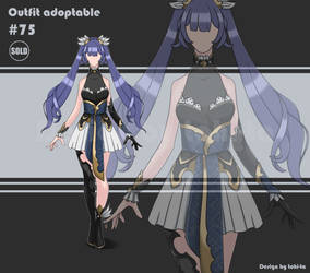 Sexy Outfit adoptable #75 [Closed]