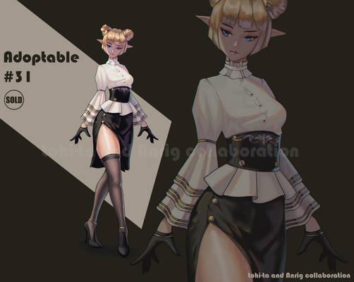 Sexy elf-girl Adoptable #31 [Closed]