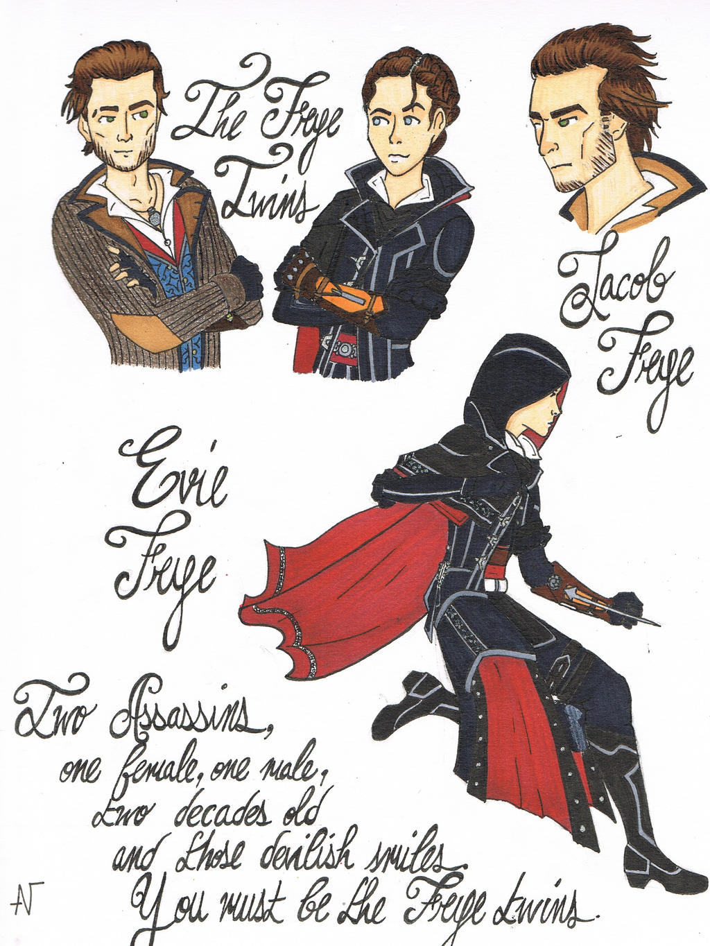The Unstoppable Frye Twins by xXIndigoStarXx