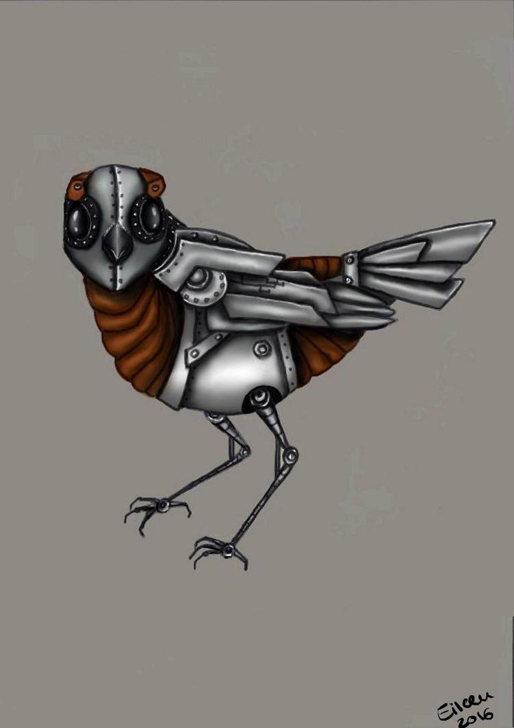 Mecanical bird by QueeniEileeni