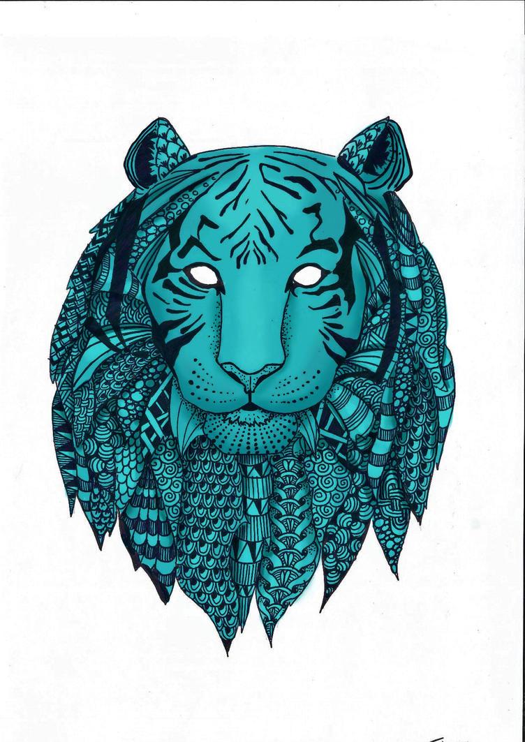 Zen-tiger by QueeniEileeni