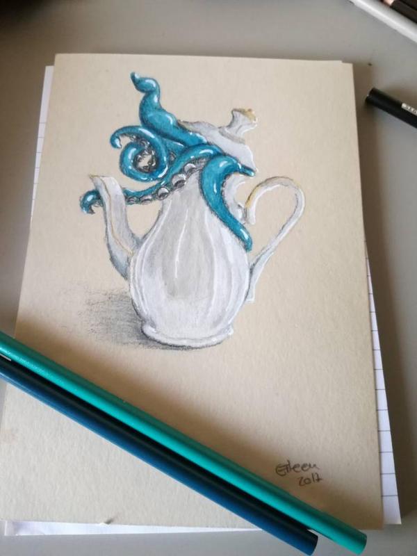 Teatime  by QueeniEileeni