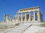 Ancient Temple Ruins in Greece