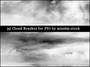Cloud brushes EXCLUSIVE
