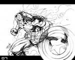 Marvel Heroes Captain America