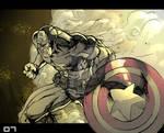 MH Captain America Color