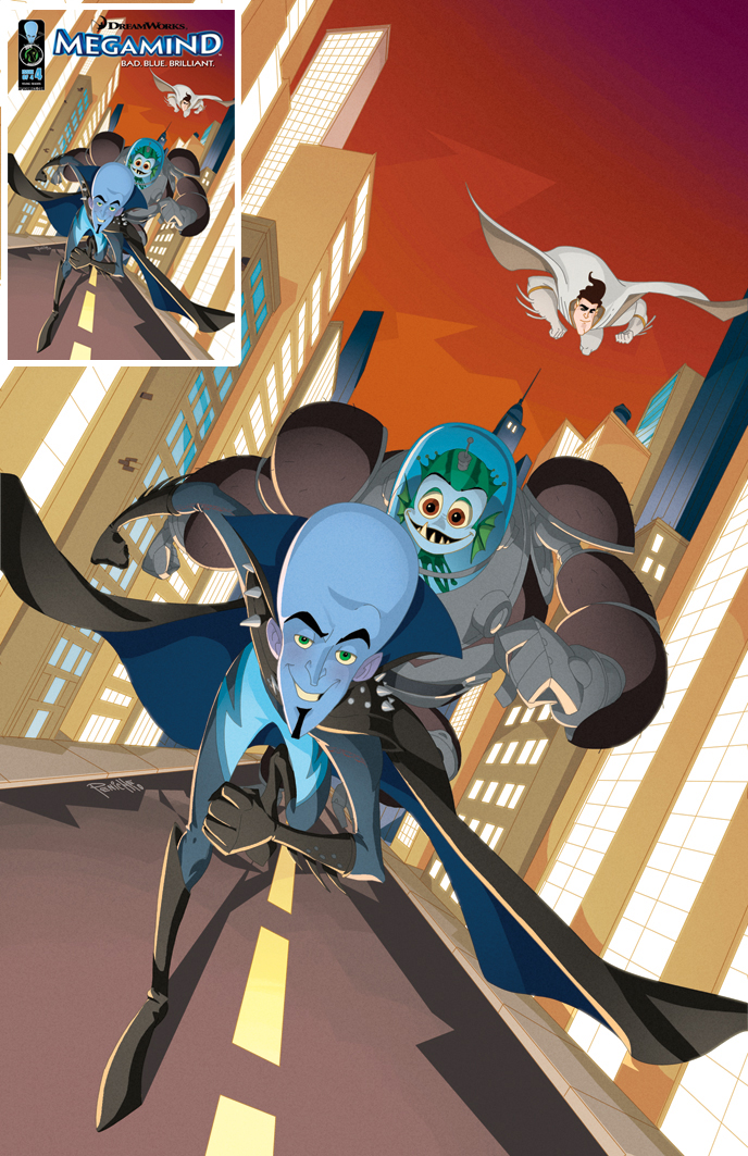 Megamind 4 cover by Fpeniche