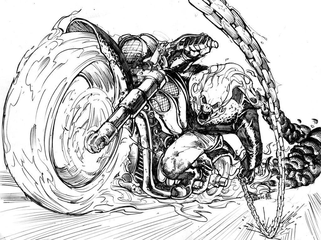 Ghost Rider 2 By Fpeniche On DeviantArt