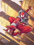 Scarlet Spider color