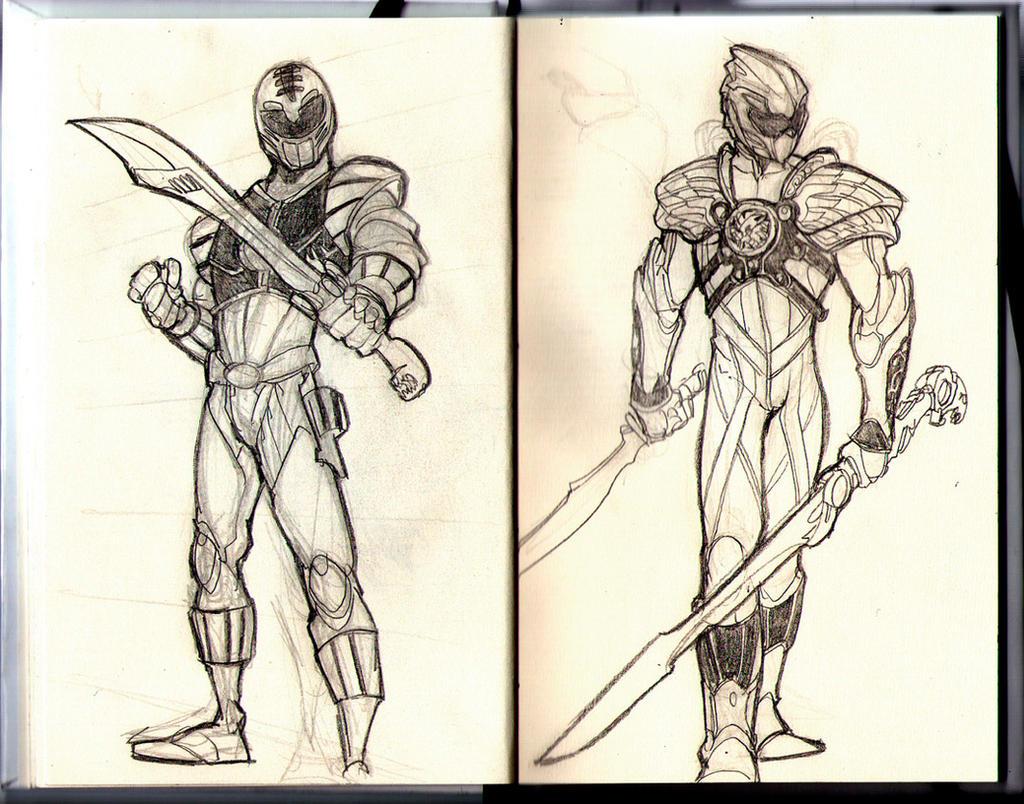 White Ranger Redesigned