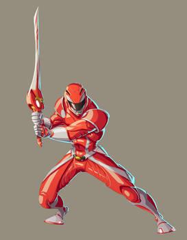 Red Ranger by Fpeniche