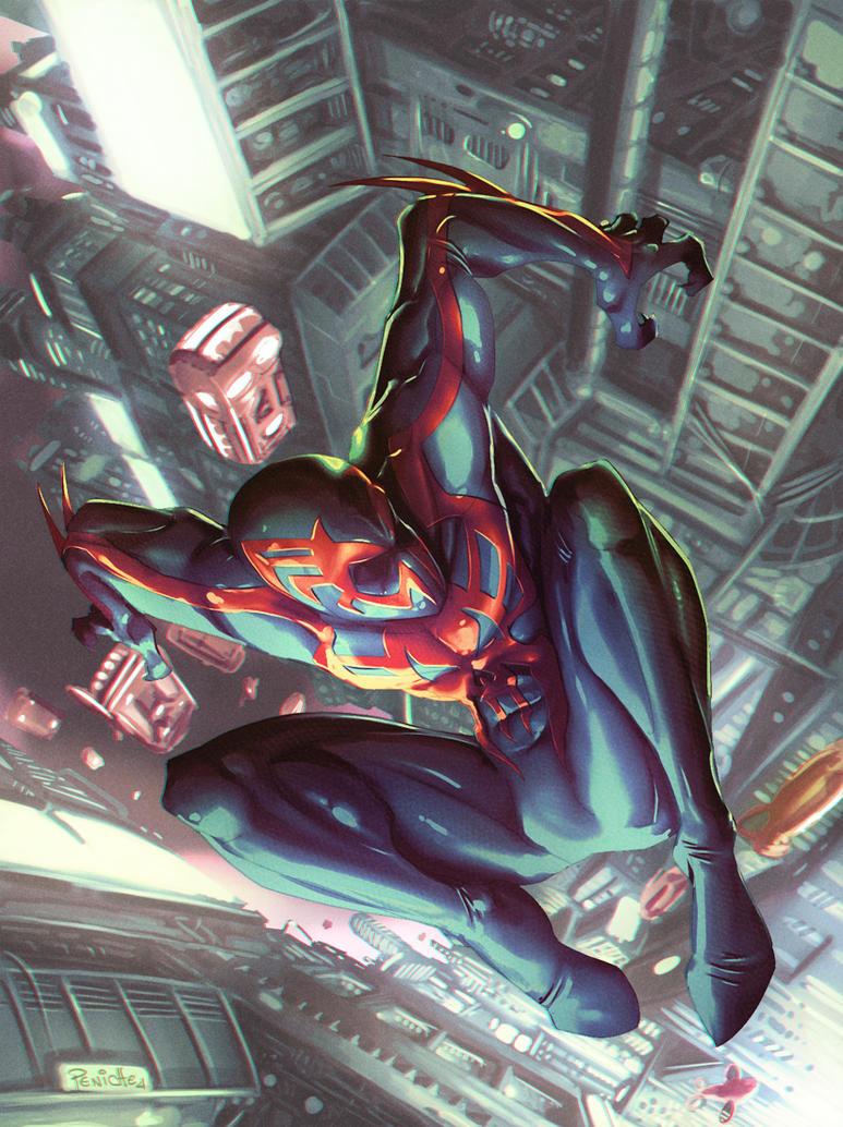 Spider-Man 2099 by Fpeniche