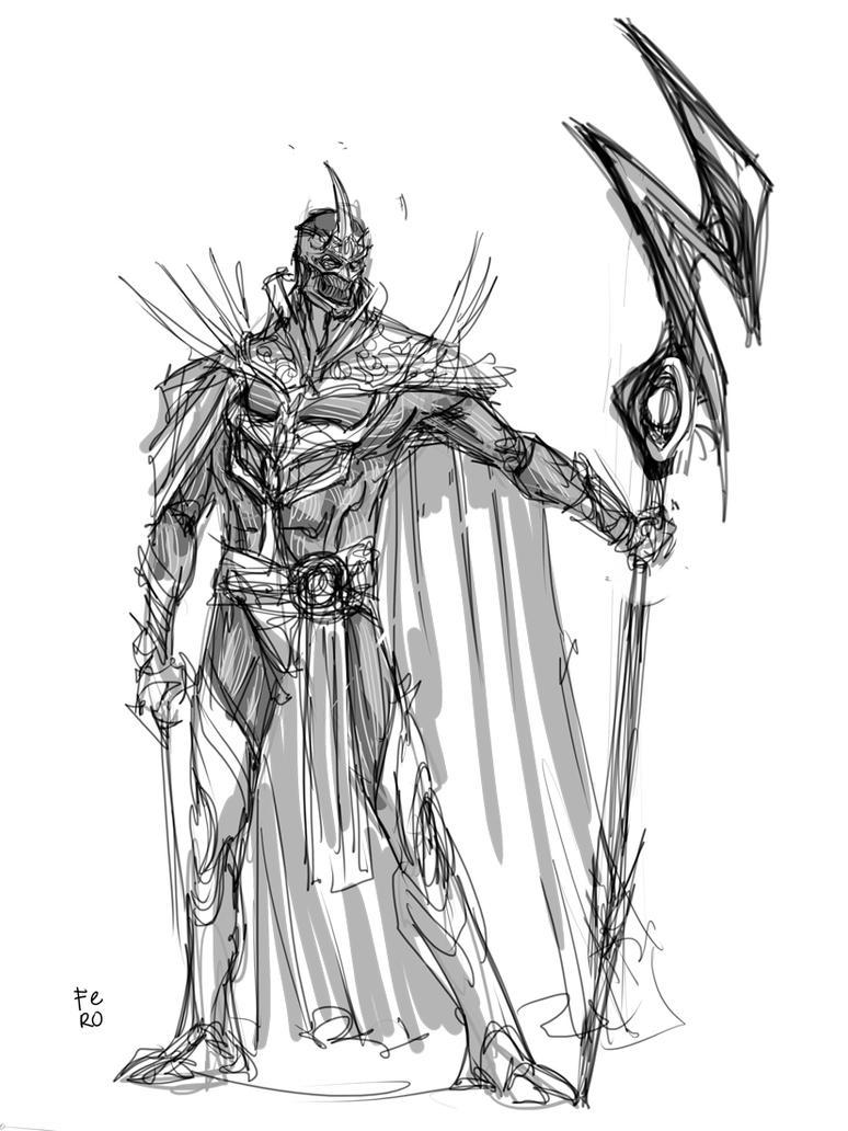 Zedd Sketch 2 by Fpeniche