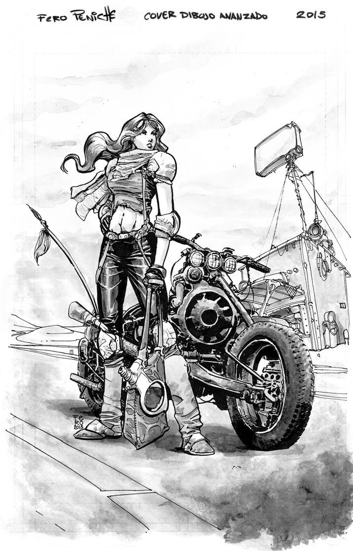 Fury Girl Greytones by Fpeniche