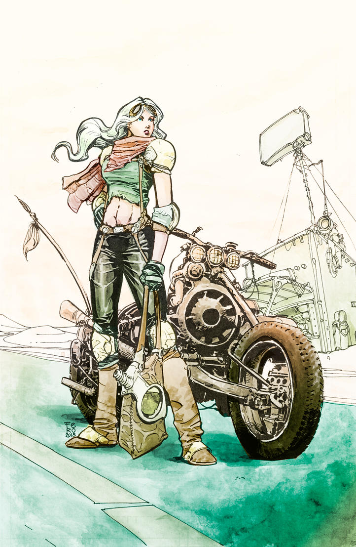 Fury Girl colors by Fpeniche